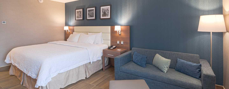 Hampton Inn by Hilton Monterrey/Galerías-Obispado, México - Habitación con cama King