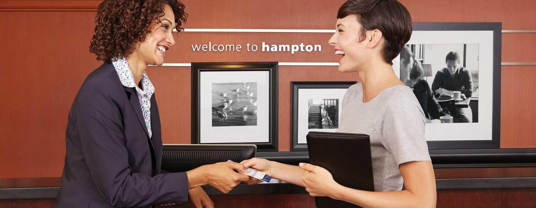 Hotel Hampton Inn by Hilton Monterrey La Fe, Nuevo León, México - Recepción