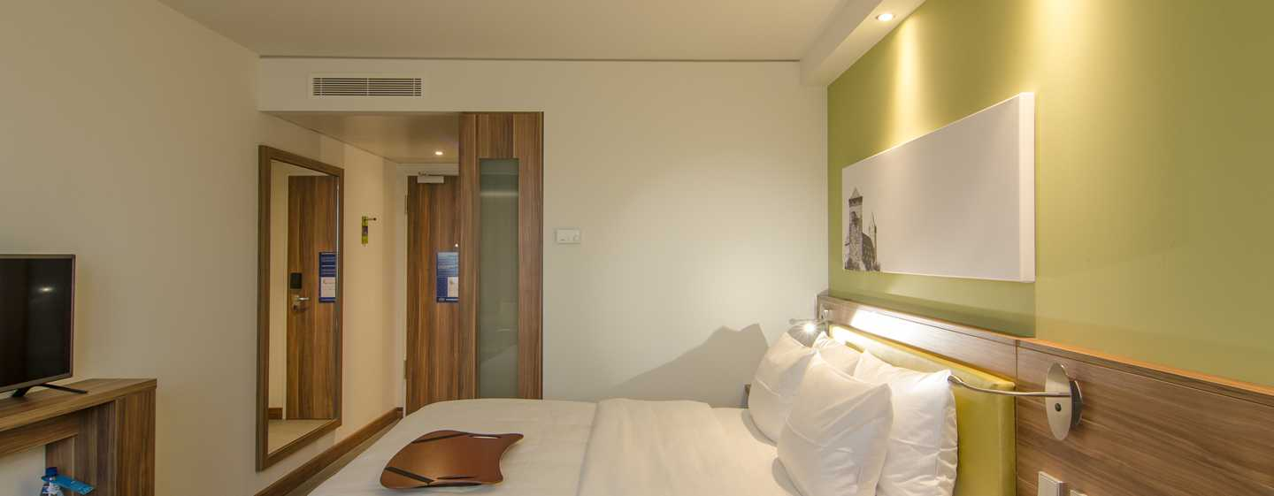 Hampton by Hilton Nuremberg City Centre – Gästezimmer