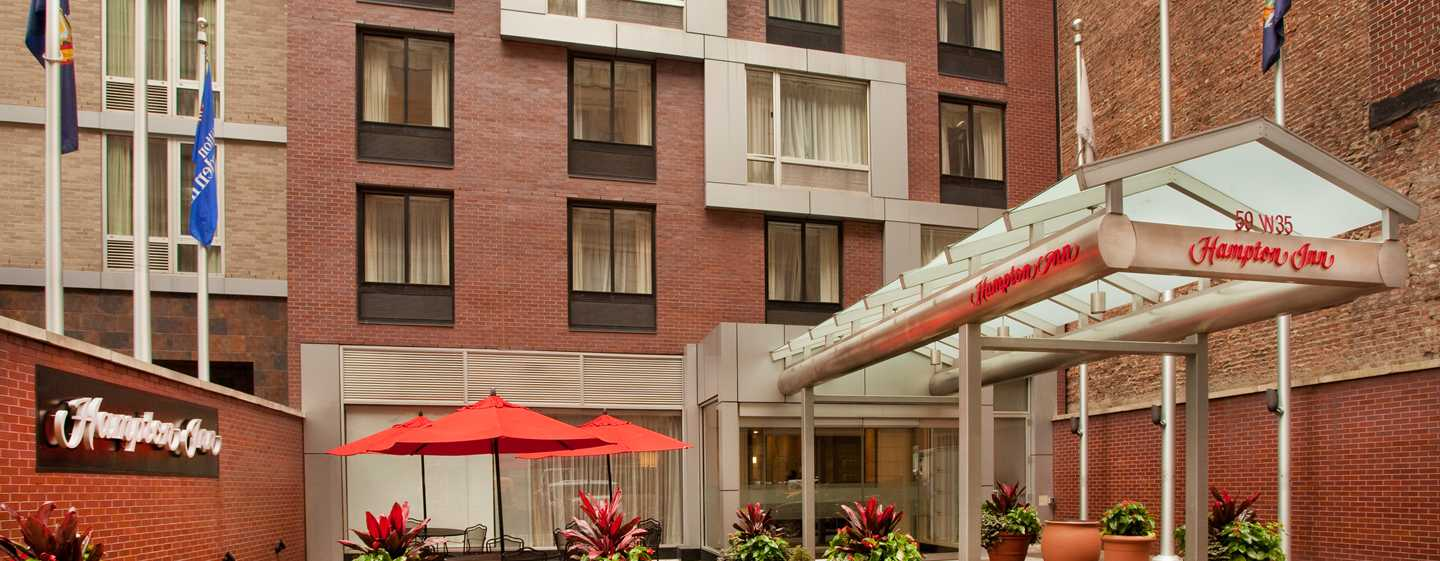 Hampton Inn Manhattan-35th St/Empire State Bldg, USA - Exterior do hotel