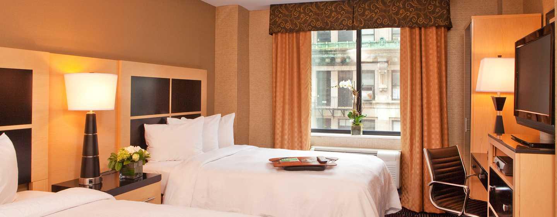 Hampton Inn Manhattan-35th St/Empire State Bldg, Vereinigte Staaten - Zimmer mit zwei Doppelbetten