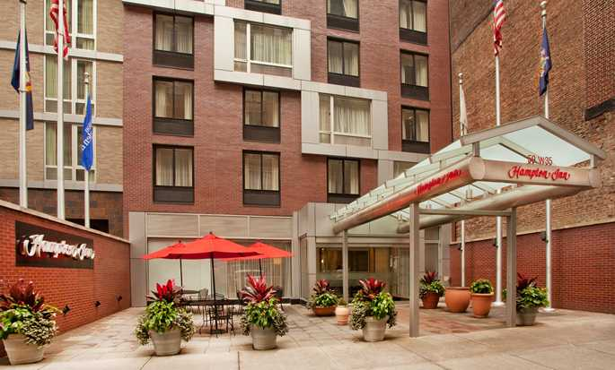 Hampton Inn Manhattan-35th St/Empire State Bldg, EUA - Entrada del hotel