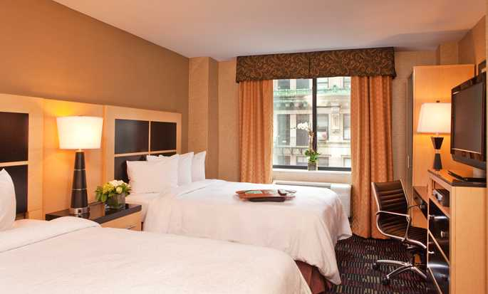 Hampton Inn Manhattan-35th St/Empire State Bldg, USA - double guest room