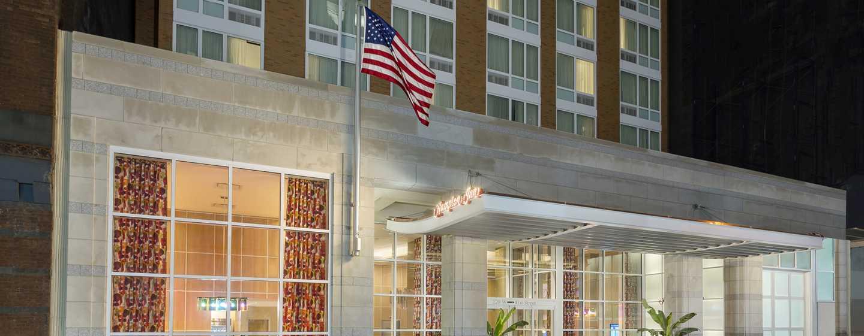 Hampton Inn Manhattan/Times Square Central Hotel, New York, USA– Außenansicht