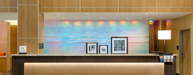 Hampton Inn Manhattan/Times Square Central Hotel, New York, USA– Empfang