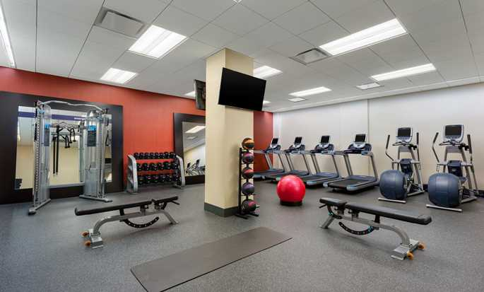 Hotel Hampton Inn Manhattan/Times Square Central, Nueva York, EE. UU. - Gimnasio