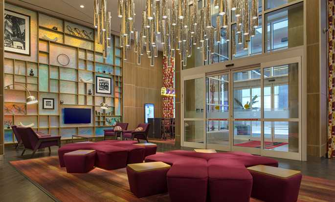 Hampton Inn Manhattan/Times Square Central hotel, Nova York, EUA - Lobby