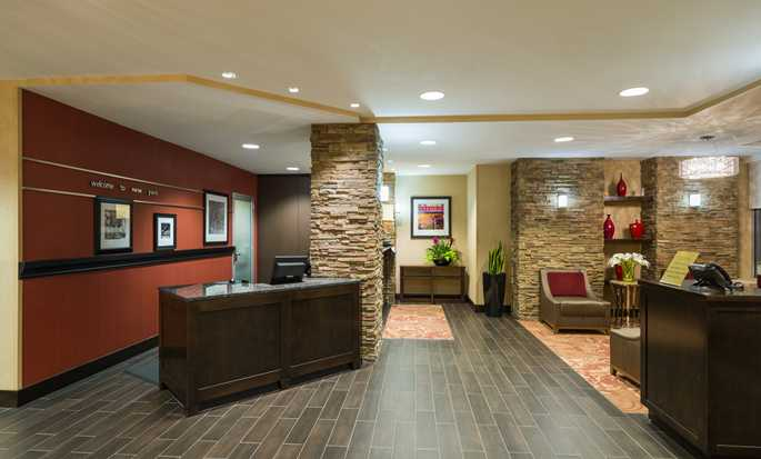 Hotel Hampton Inn Manhattan-Times Square South, Nova York, EUA – Lobby