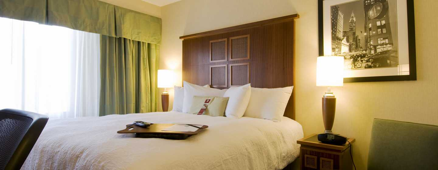 Hotel Hampton Inn Manhattan-SoHo, New York, Stati Uniti - Camera con letto king size