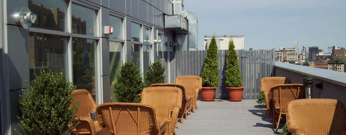 Hotel Hampton Inn Manhattan-SoHo, New York, Stati Uniti - Terrazza