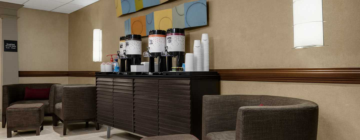 Hampton Inn Manhattan-Times Square North Hotel, New York, USA – Kostenfreier Kaffee und Tee