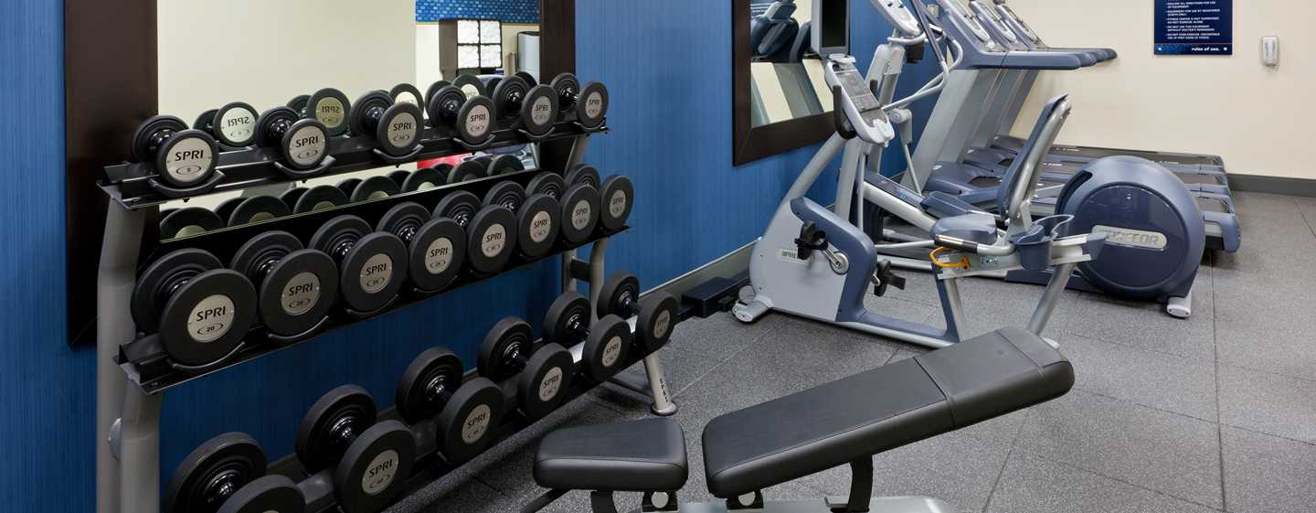 Hampton Inn Manhattan-Times Square North Hotel, New York, USA – Fitnesscenter