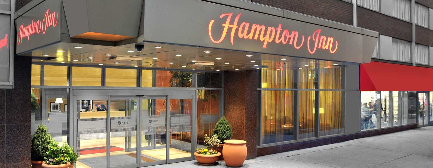 Hotel Hampton Inn Manhattan-Times Square North, Nueva York, EE. UU. - Fachada del hotel