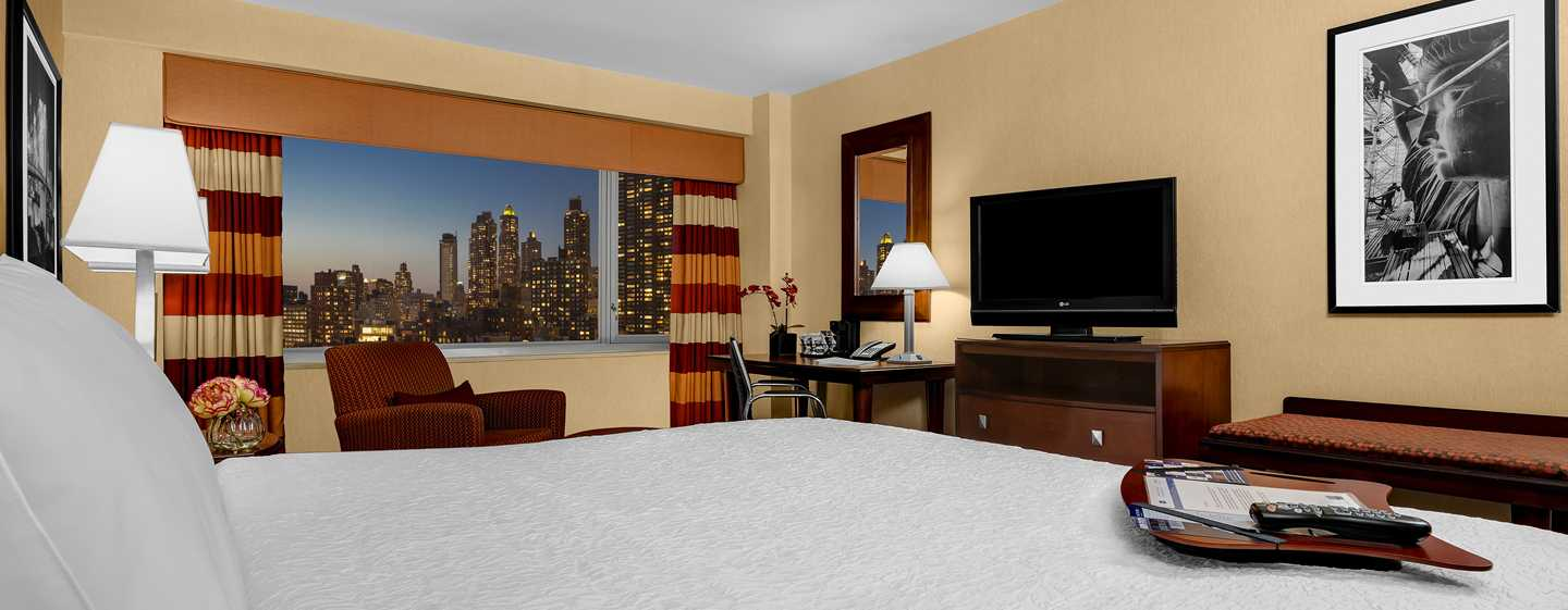 Hotel Hampton Inn Manhattan-Times Square North, Nueva York, EE. UU. - Habitación con cama King