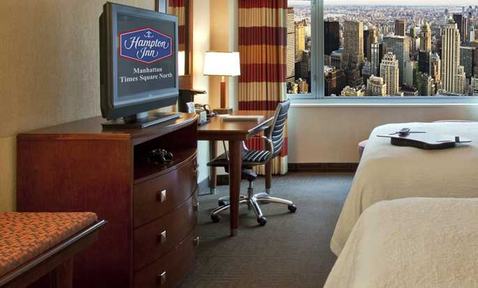 Hampton Inn Manhattan-Times Square North hotel, VS - Twee Tweepersoonskamer
