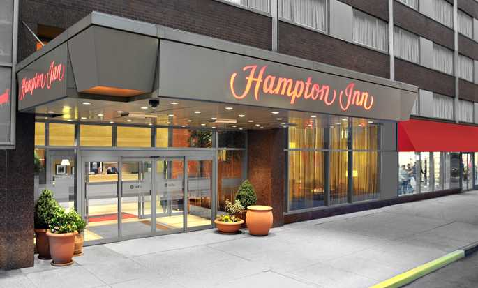 Hampton Inn Manhattan-Times Square North hotel, VS - Buitenkant hotel