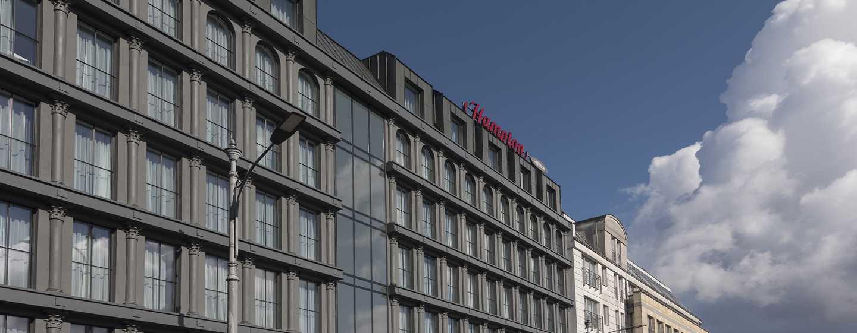 Hotel Hampton by Hilton Poznań Old Town – fasada hotelu