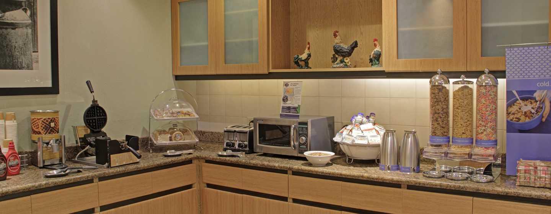 Hotel Hampton Inn & Suites by Hilton San Jose-Airport, Costa Rica - Área de desayuno