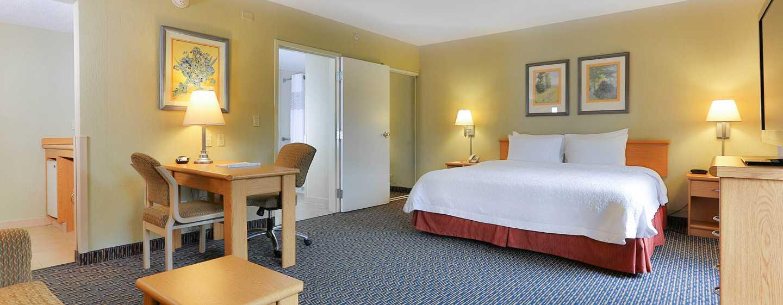 Hotel Hampton Inn & Suites by Hilton San Jose-Airport, Costa Rica - Suite tipo estudio con cama King