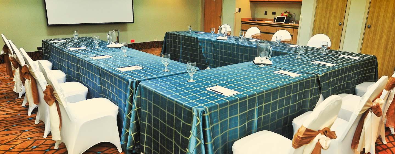 Hotel Hampton Inn & Suites by Hilton San Jose-Airport, Costa Rica - Sala de reuniones con montaje en forma de U