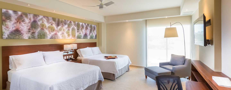 Hampton Inn & Suites by Hilton Los Cabos, México - Habitación con dos camas Queen