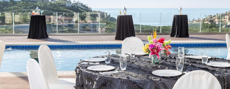 Hampton Inn & Suites by Hilton Los Cabos, México - Recepción en la piscina en la última planta