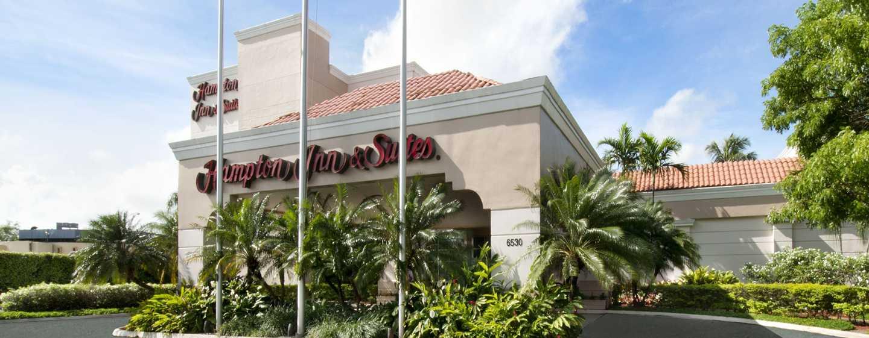 Hampton Inn & Suites San Juan, Puerto Rico - Entrada del hotel