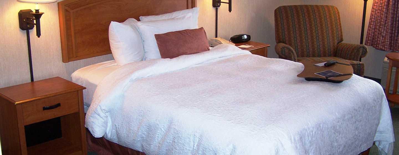Hotel Hampton Inn by Hilton Saltillo Airport Area, Coahuila, México - Habitación accesible para personas con discapacidades con cama King