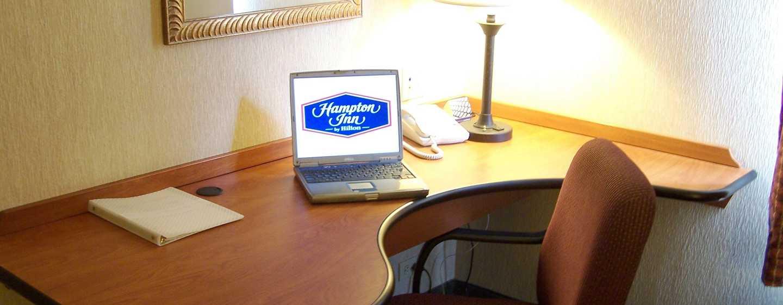 Hotel Hampton Inn by Hilton Saltillo Airport Area, Coahuila, México - Área de escritorio