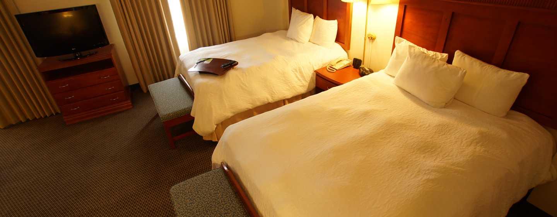 Hotel Hampton Inn by Hilton Tampico Aeropuerto, Tamaulipas, México - Habitación tipo estudio con dos camas Queen