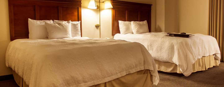 Hotel Hampton Inn by Hilton Tampico Aeropuerto, Tamaulipas, México - Suite con dos camas Queen