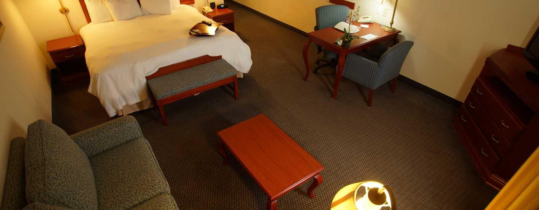 Hotel Hampton Inn by Hilton Tampico Aeropuerto, Tamaulipas, México - Sala de estar de la suite