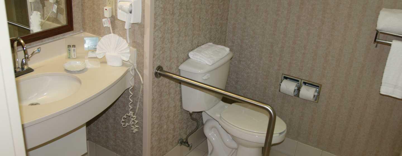 Hotel Hampton Inn by Hilton Torreon-Airport Galerias, Coahuila, México - Baño accesible para personas con discapacidades