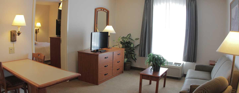Hotel Hampton Inn by Hilton Torreon-Airport Galerias, Coahuila, México - Sala de estar de la suite