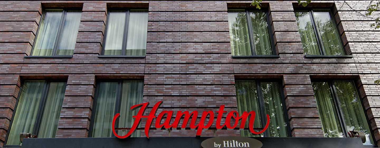 Hampton by Hilton Berlin City West Hotel, Berlin, Deutschland– Außenbereich des Hotels