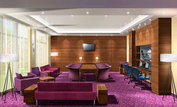 Hampton by Hilton Berlin City West Hotel, Berlin, Deutschland – Business Center