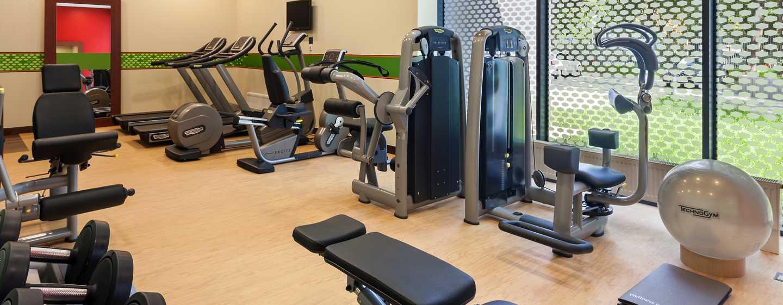 Hotel Hampton by Hilton Warsaw Airport, Polska – Sala fitness