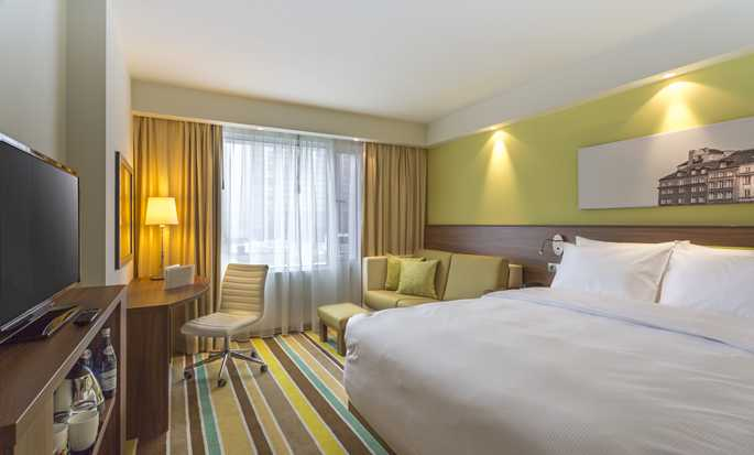 Hampton by Hilton Warsaw City Centre hotel, Polen - Kamer