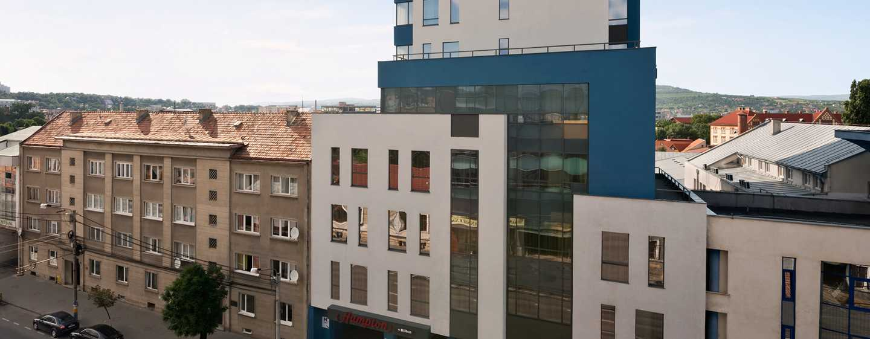 Hotel Hampton by Hilton Warsaw Mokotów, Polska – fasada hotelu