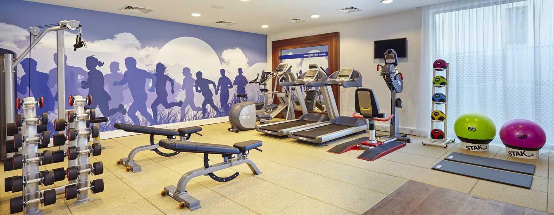Hotel Hampton by Hilton Warsaw Mokotów, Polska ‒ centrum fitness