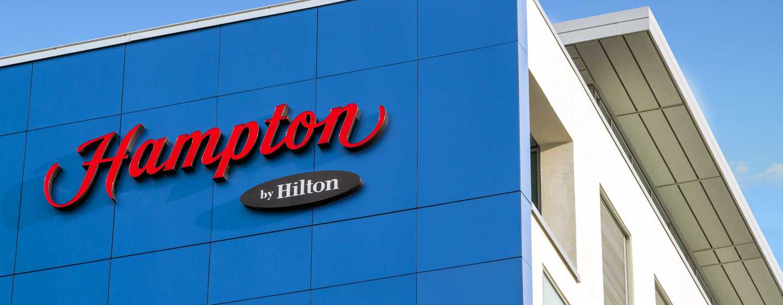 Hampton by Hilton Kalisz ‒ Fasada hotelu