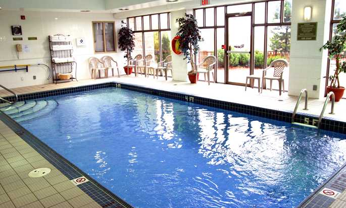 Hôtel Hampton Inn by Hilton Toronto-Mississauga West, Ontario, Canada - Piscine intérieure
