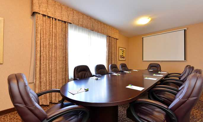 Hampton Inn & Suites by Hilton Edmonton International Airport, Alberta, Canada - Salle de conférence