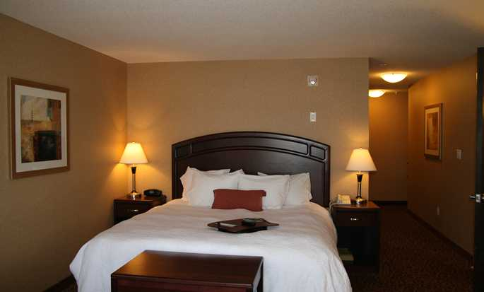 Hampton Inn & Suites by Hilton Edmonton International Airport, Alberta, Canada - Suite d'une chambre avec très grand lit