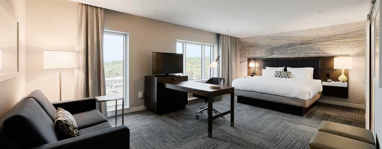 Hôtel Hampton Inn & Suites by Hilton Quebec City/Saint-Romuald - Chambre King Studio