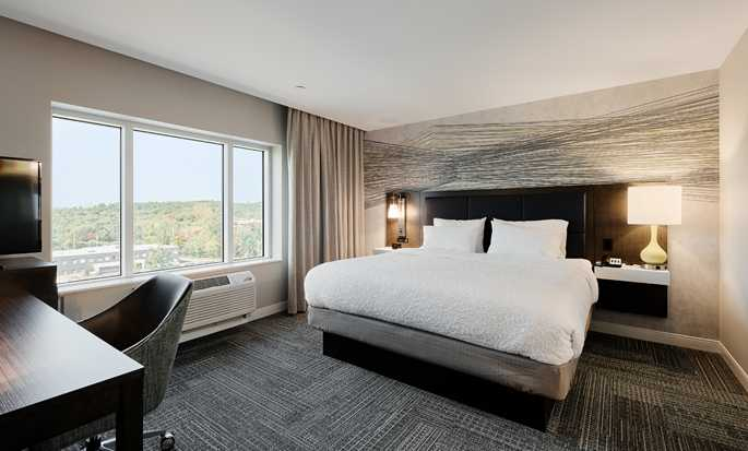 Hôtel Hampton Inn & Suites by Hilton Quebec City/Saint-Romuald - Chambre King Studio