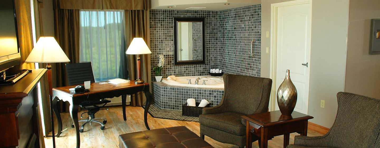 Hôtel Hampton Inn & Suites by Hilton Moncton, Canada - Suite Studio avec très grand lit