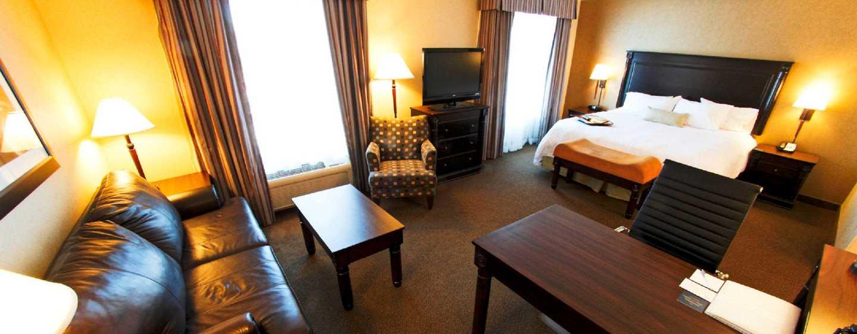 Hôtel Hampton Inn & Suites by Hilton Moncton, Canada - Studio avec très grand lit