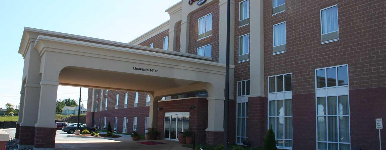 Hôtel Hampton Inn & Suites by Hilton Saint John, Nouveau-Brunswick, Canada - Extérieur