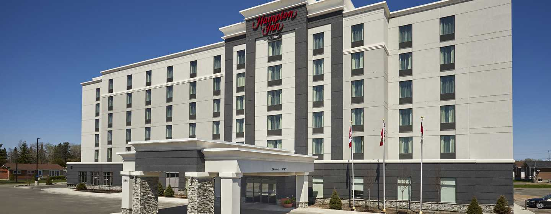 Hôtel Hampton Inn by Hilton Timmins, Ontario, Canada - Extérieur de l'hôtel, de jour